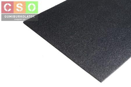 II. osztályú 20x1000x1000mm fekete fitnesz-20 gumilap