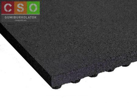 II. osztályú 50x500x500mm fekete esésvédő gumilap