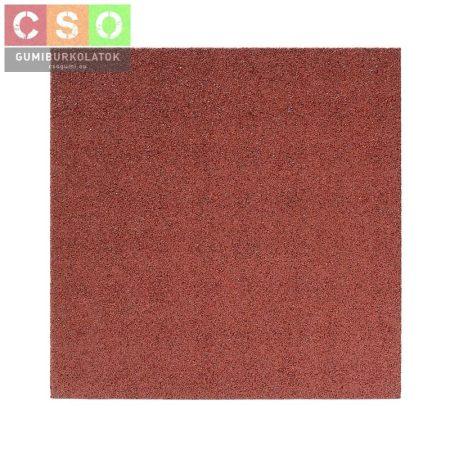 Gumilap 40x1000x1000mm osztott vörös