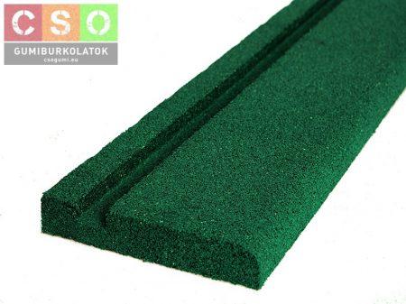 Gumilap szegély zöld