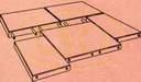 Gumilap helyes lerakási formája